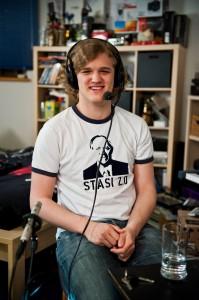 Kai Mast aka DrHalan im Studio
