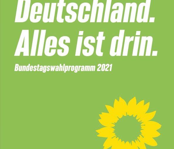 Folge 161: Klimaprogramme: Bündnis 90/Die Grünen